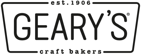 Geary's, Craft Bakers since 1906.